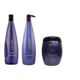Kit Aneethun Grande Linha A - Masc + Shampoo + Creme Silic.