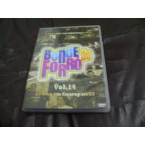 Dvd Bonde Do Forro Ao Vivo Em Guarapari / Es Volume 14