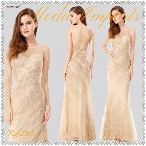6aab05940 Vestido De Festa;casamentos;formaturas Ever Pretty Tetes