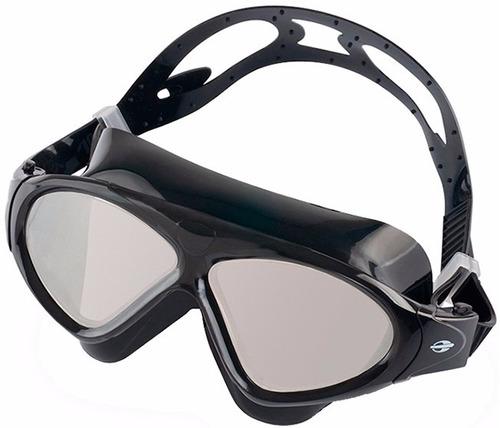 fa906dab7 Oculos De Natação Espelhado Mormaii Orbit Preto Ajustavel