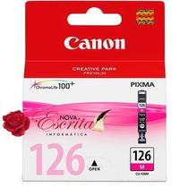 Cartucho Tinta Canon 126 Magenta Cli-126 Ma Original Mx711