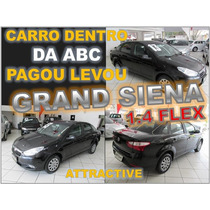 Grand Siena Attractive 1.4 Flex Ano 2013 Financiamento Facil