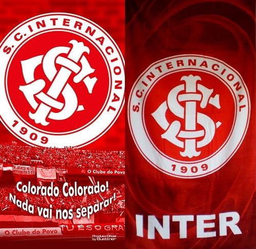 98b8b78aef 02 Toalhas Banho praia Inter Futebol Oficial.