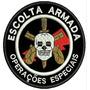Bordado Termocolante- Segurança- Escolta Armada Op Especiais