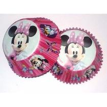 50 Forminhas De Cupcake Mickey, Minnie E Outros! Encomenda!