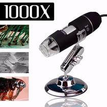 Microscópio Digital Usb 1000x 2.0 Mega Pixels Frete Gratis