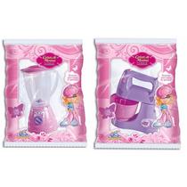 Kit Liquidificador E Batedeira P/ Cozinha Infantil