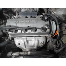 Motor Parcial Do Honda Civic 1.6 16v 2000 Automático C/nota