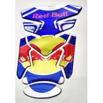Adesivo Protetor De Tanque Tank Pad Moto Red Bull