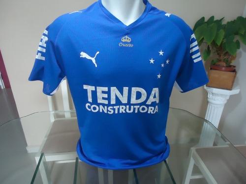 Camisa Cruzeiro Puma   Tenda 2008 - Julio Batista ( 219 ) 4cd68a397eb2a