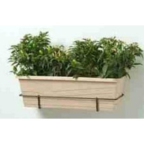 2 Floreiras+suportes+pratos +6 Vasos Parede P Horta Vertical