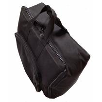 Capa Bag Para Acordeon 120 Baixos Master Luxo Vivo Preto