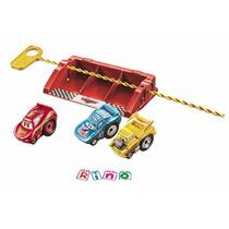 Disney Cars Riplash Racers The King + Mater + Mcqueen Mattel