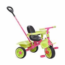 Triciclo Smart Plus (rosa) Bandeirante