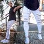 Calça Jeans Masculina Com Lycra Premium 2019 Pronta Entrega Original