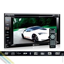 Kit Multimidia Dvd Automotivo 2din Com Controle