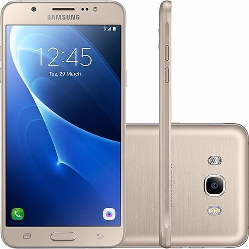 Celular Samsung Galaxy Sm - j710 J7 Metal Duos Dourado