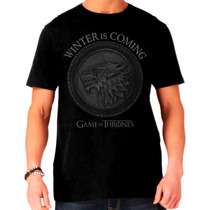 Camisa Game Of Thrones - Stark Escudo