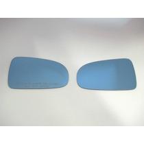 Par Lente Azul Espelho Retrovisor Santana 98 A 06