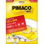 Etiqueta Para Cd E Dvd Pimaco Cd25b - 50 Etiquetas