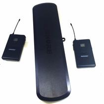 Transmissor Duplo Sem Fio Shure Pg288/ Pg14 Com Pg31 Headset