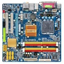 Placa Mãe Gigabyte Ga-eq45m-s2 Dvi 775 Ddr2 16gb Core 2 Quad