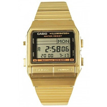 Relógio Casio Data Bank Db-380g-1df / Memória 30 Telefones