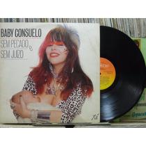 Baby Consuelo Pecado Sem Juizo Lp Cbs 1985 Estéreo Encarte