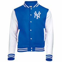 Jaqueta Blusa College Varsity New Yankees