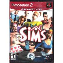 Jogo Ps2 The Sims Original