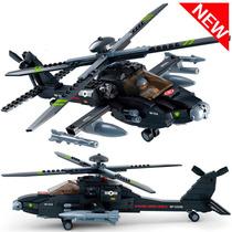 Super Helicóptero Ah-64 Da Força Americana - Compatível Lego