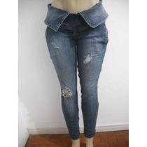 Calça Jeans Knt Denim Feminina Tam 42 Ótimo Estado