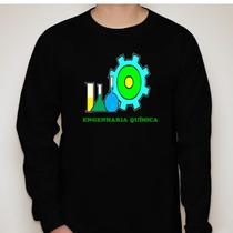 Camiseta Manga Longa Engenharia Química