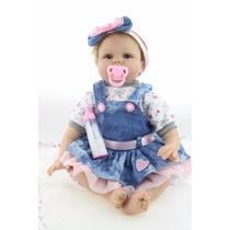 Bebê Reborn Boneca Realista 55 Cm Importada - Pronta Entrega