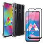 Kit Capa Capinha Case Transp + Pelicula 3d Samsung A10s Original