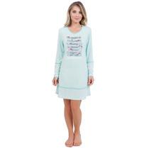 Pijama Feminino Adulto Inverno Marca Victory - Ref 1552