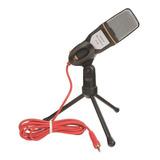 Microfone Sf 666 Omnidirecional Preto
