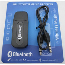 Receptor Bluetooth P2 Usb Adaptador Áudio Tv Carro