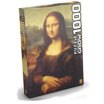 Puzzle Quebra Cabeça Monalisa 1000 Peças Grow