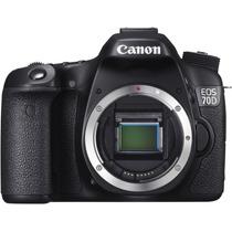 Canon Eos 70d Corpo - 20mp