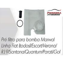 Pré Filtro Para Bomba De Combustivel Fiat / Santana / Parati