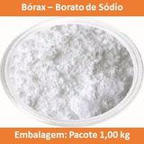 Bórax ( Borato De Sódio) - Pacote 1kg