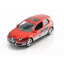 Jada 1:64 Vdub$ - Volkswagen Golf Mk5 Gti - Vermelho