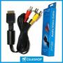 Cabo Av Ps1, Ps2, Ps3, Playstation, Áudio E Vídeo Rca 1.8m