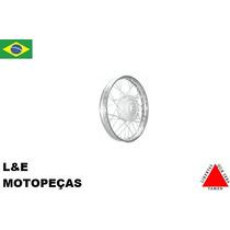 Roda Montada Biz 100/125 17x120 Dianteira Cromada (promoção)