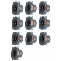 10 Alto Falante 2,5 Polegadas Para Mini Line Array