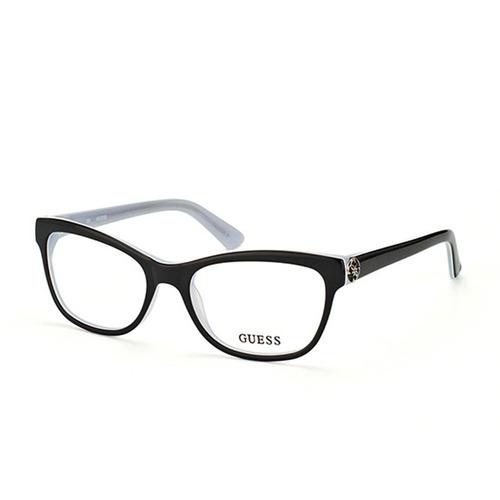 702a57c01 Armação De Óculos De Grau Guess Feminino - Gu2527 003. R$ 396
