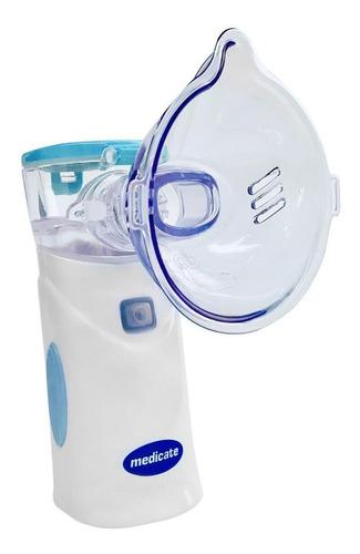 Nebulizador De Rede Medicate Md4400 Azul 110v/220v