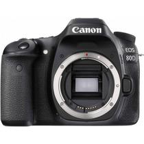 Câmera Dslr Profissional Canon Eos 80d 24mp Wifi
