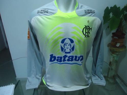 Camisa Flamengo Olympikus 2010 Treino - Manga Longa - R  154 en ... 5023f5357f5be